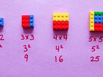 Cómo enseñar matemáticas a los niños usando LEGO